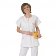 Blouse medicale col carre a personnaliser
